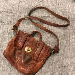 Used in all the right ways cross body Fossil bag